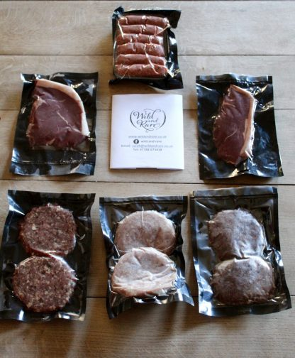 BBQ meat selection
